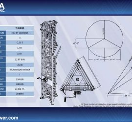 t-35 telescopic guyed tower