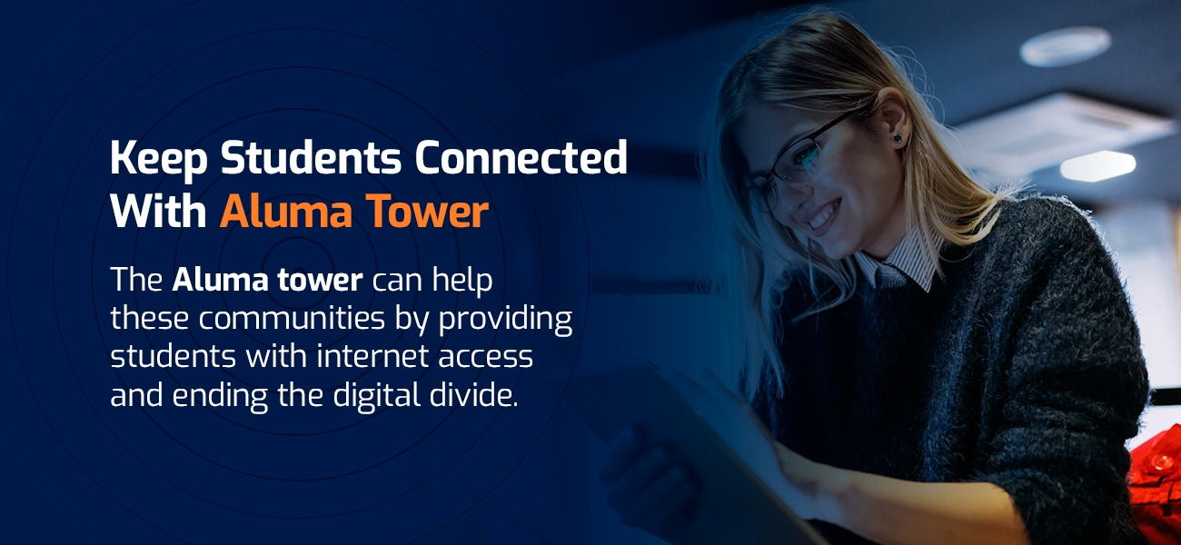 keep students connected with aluma tower